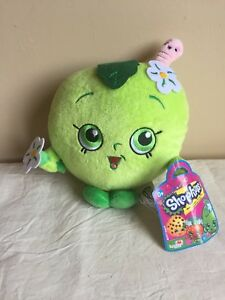 Shopkins-Green-Apple-Blossom-8-Plush-NWT