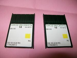 20-DB-X-K5-Size-12-80-NEEDLES-TO-SUIT-JANOME-MB-4-EMBROIDERY-MACHINE