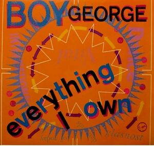 BOY-GEORGE-everything-i-own-use-me-SP-1987-RARE-EX