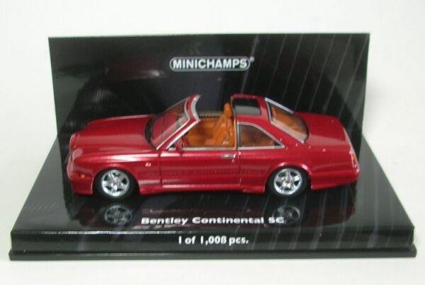Bentley Continental SC (Red Metallic) 1996
