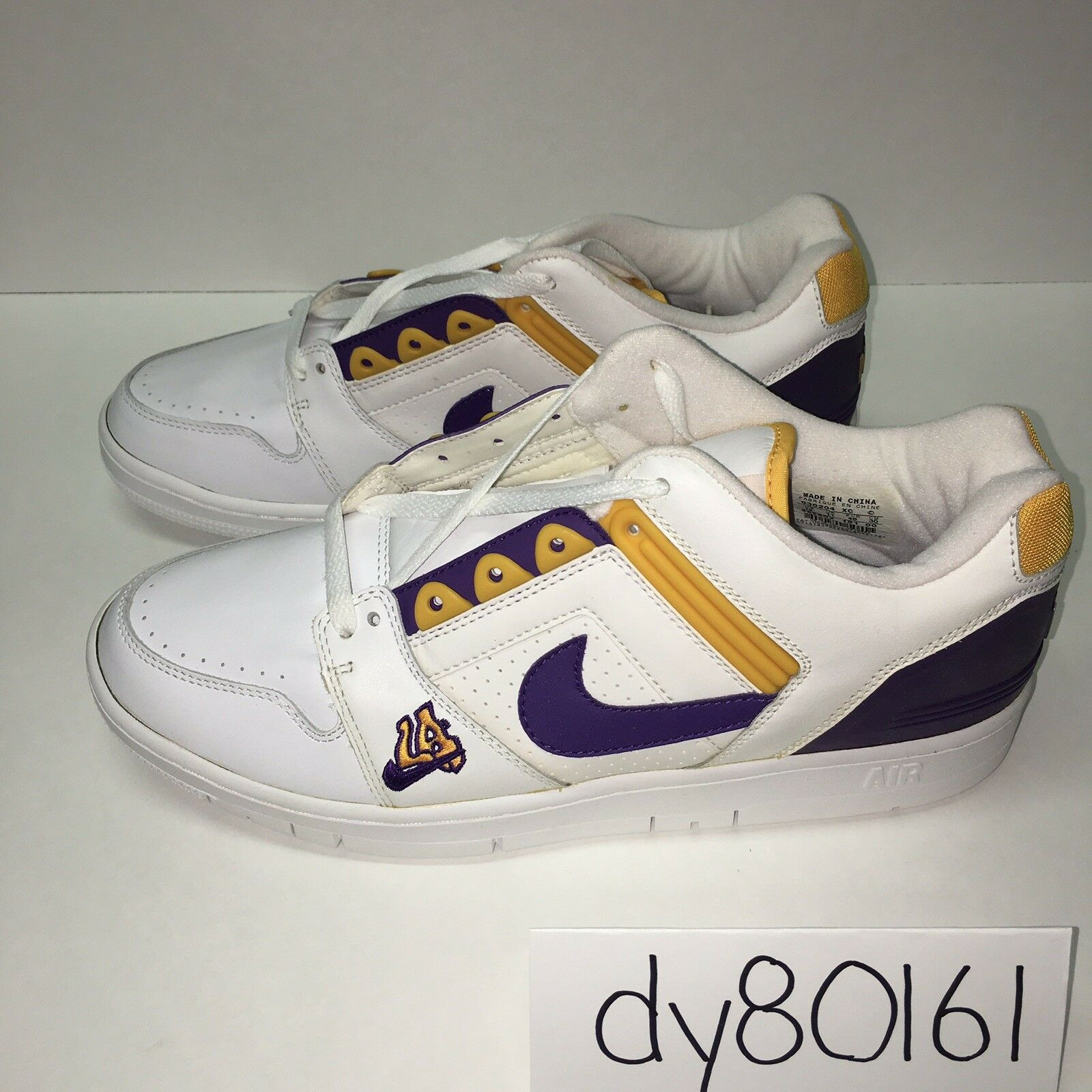 Seasonal clearance sale AIR FORCE 2 LOW Price reduction Lakers LA AF2 Men's Comfortable