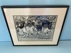 Gale-Sayers-Signed-autographed-8x10-Photo-Chicago-Bears-Field-Of-Dreams-HOF-COA