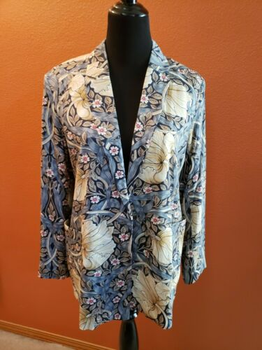 H&M Morris & Co. William Morris Printed Jacket US… - image 1