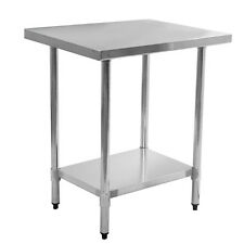 """New 24"""" x 36"""" Stainless Steel Commercial Kitchen Work Food Prep Table"""