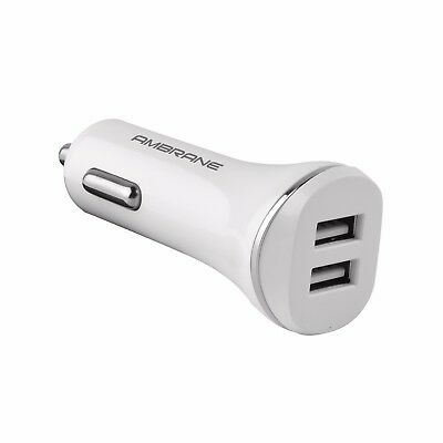 Ambrane ACC-66 2.1A Dual Port Turbo Universal Car Charger