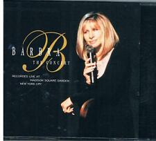 Barbra The Concert- Live at Madison Square Garden New York City 2 CD Set