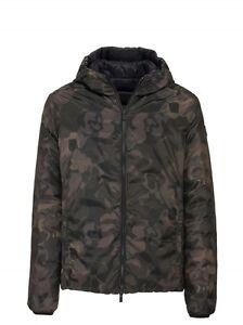 Piumino-Uomo-Ciesse-Henry-CGM082-Giacca-Reversibile-Camouflage-Mimetico-Nuovo