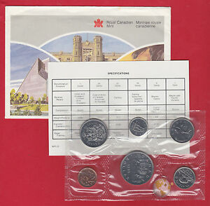 1986 - - Pl Set -  - Canada RCM Proof Like Mint - With COA and Envelope
