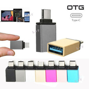USB-C-Type-C-Male-to-USB-3-0-Female-OTG-Data-Sync-Adapter-For-Phone-Macbook