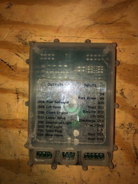 John Deere 2500e Mower Electronic Control Module Ecm