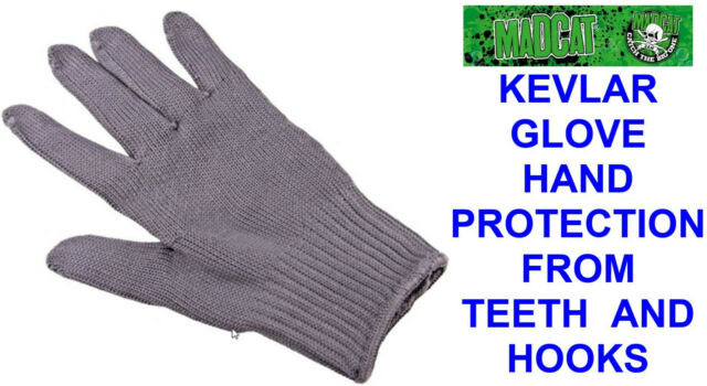 DAM MAD CAT KEVLAR GLOVE HAND PROTECTION FOR CATFISH TEETH HOOKS PIKE FISHING