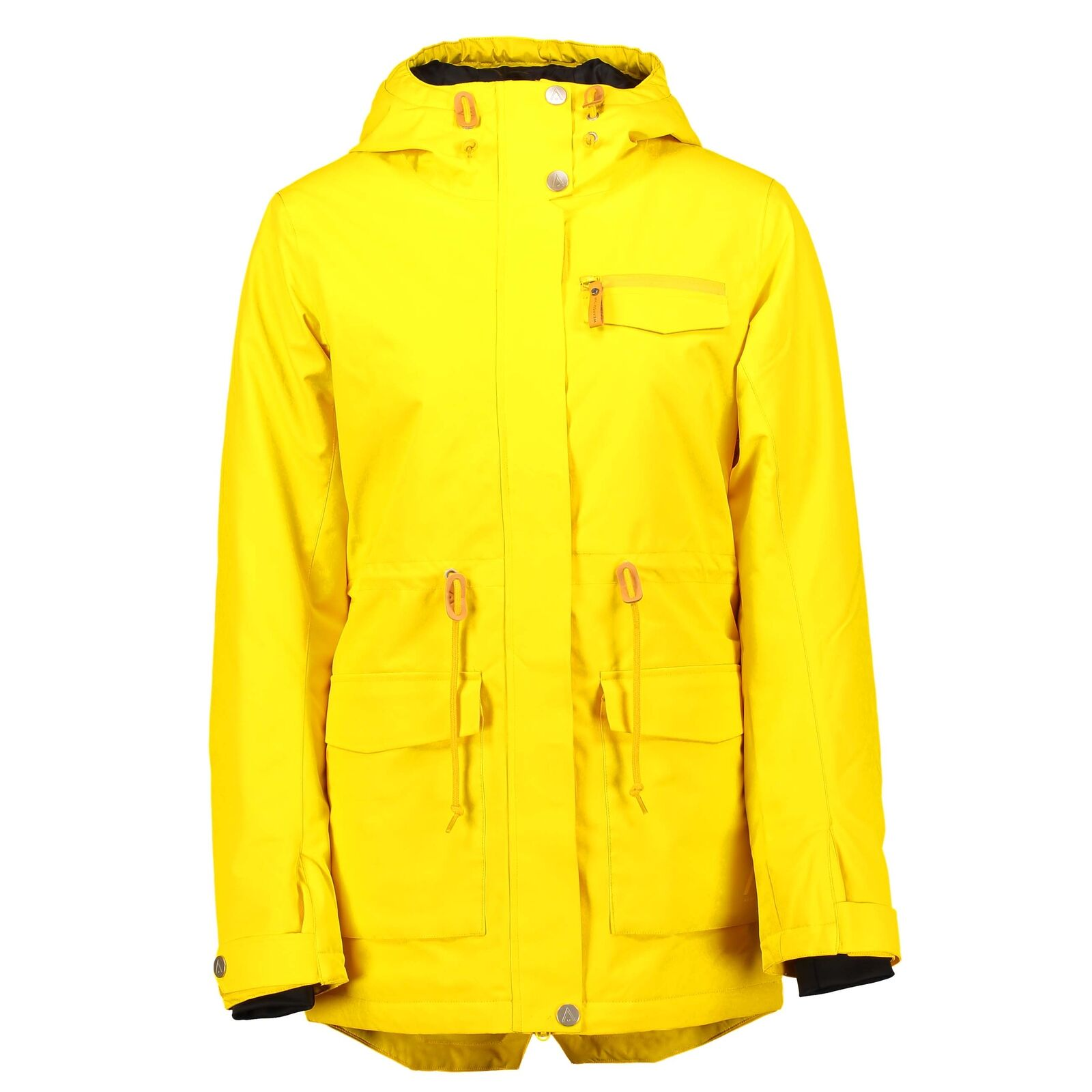 Wear Colour Womens State Ski Snow Parka Old gold