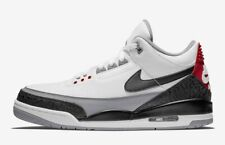 caa366f3e22a Air Jordan 3 Retro Tinker Hatfield UK 10.5 EUR 45.5 White Fire Red Cement