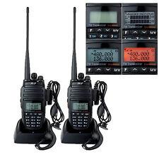 Top 2pcs TYT TH-UV8000D VHF/UHF 2*128CH 10W 3600mAh PMR446 2-way radio it