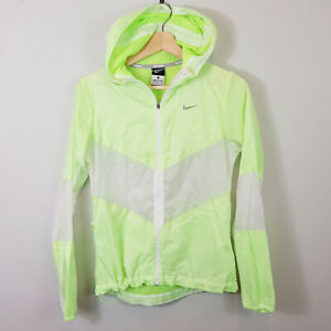NIKE-Womens-zip-up-Neon-Running-Jacket-Size-S-or-AU-10-US-6