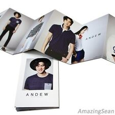 Yoo Yeon Seok (Reply 1994) Photo Catalog 10 Photo, Photo Booklet, 2014 S/S ANDEW