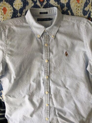 Ralph Lauren Oxford Bluse Damen Gr 14
