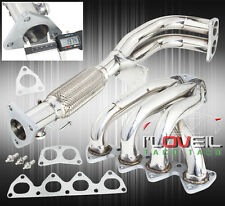 1997-2001 HONDA PRELUDE H22 BASE 2.2L L4 4CYL STAINLESS STEEL PERFORMANCE HEADER