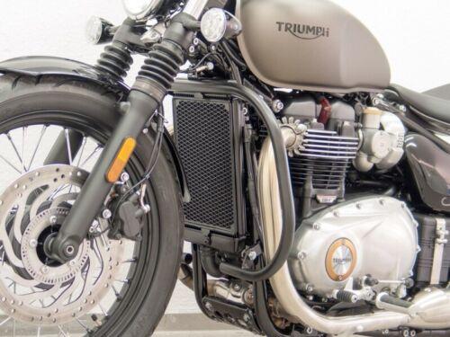 D76 ab 2017 in schwarz Fehling Schutzbügel für Triumph Bonneville Bobber