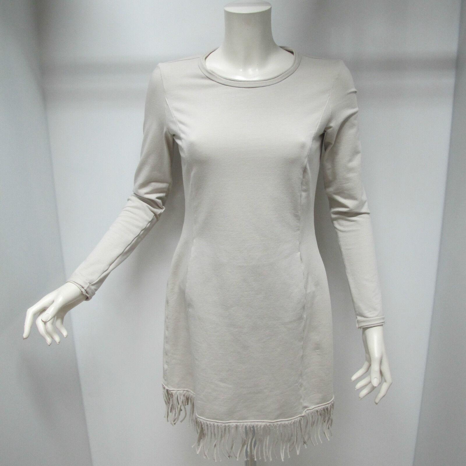EUROPEAN CULTURE women'S dress with sleeves mod.10X0 BEIGE size S winter 2015