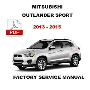 2014 mitsubishi outlander sport wiring diagram 2014 automotive mitsubishi outlander sport wiring diagram description image is loading mitsubishi outlander sport 2013 2014 2015 service repair