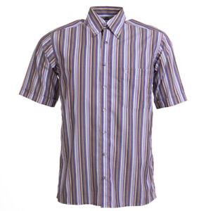 Eterna-Sehr-Gute-Hemd-Lila-Streifen-Groesse-S-Bw-383