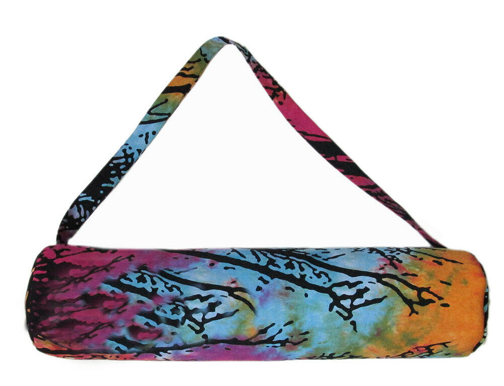 3 Pcs. Lot Of Indian Indian Indian Portable Yoga Mat Carry Bag With Shoulder Strap Carrier Bag 775547