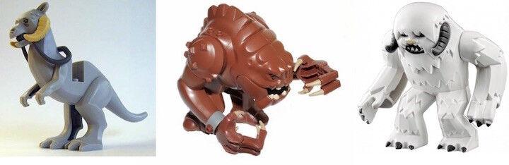 LEGO STAR WARS MINIFIGURES - ANIMALS MINIFIGURES NEW   NEW - LEGO ORIGINAL