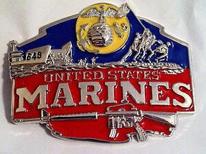 USMC-Enameled-Belt-Buckle