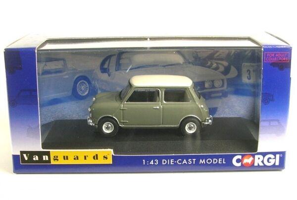 Morris Mini Cooper Mk1 998cc ( Tweed Grey   Old English White)