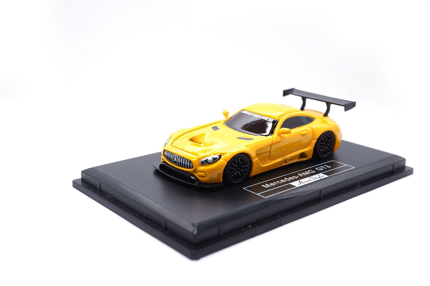 AS017-08 - FrontiArt Mercedes-AMG GT3 - yellow - 1 87