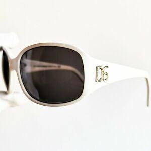 100% De Qualité Occhiali Da Sole D&g Dolce&gabbana Dg640s Sunglasses White Vintage Mask Wrap