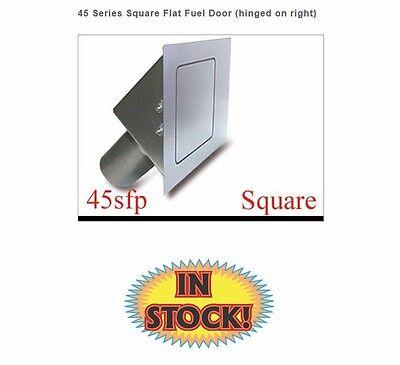 Square 90 Degree Fuel Filler Door Flat Face Hagan 90SF
