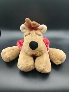 Hallmark-Rodney-Rhonda-Large-18-034-Wide-Reindeer-Plush-Christmas