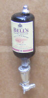 1:12 Scale Whisky Bottle In A Natural Pewter Optic Dolls House Miniature Pub B