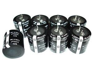 8 NEW 3300uf 63v 105c Panasonic Capacitors ORION HCCA Amplifier Mains Recap Set