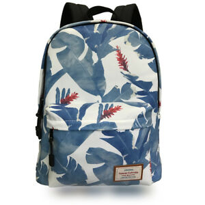 best service b413d a50e5 Image is loading Fashion-School-Backpacks-Canvas-Backpacks-Cute -Printed-Backpack-