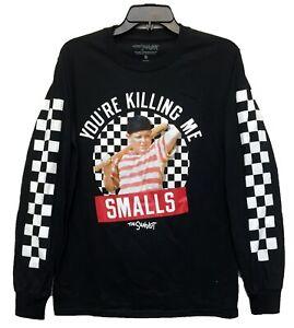 The-Sandlot-Men-039-s-You-039-re-Killing-Me-Smalls-Long-Sleeve-Licensed-T-Shirt-New