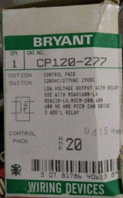 Stupendous Bryant Wiring Device Cp120 277 103007 Ebay Wiring Database Ittabxeroyuccorg