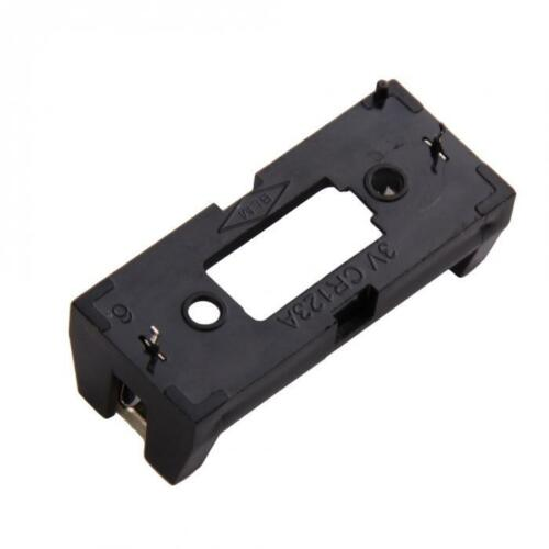 5PCS Battery Holder Case Box Clip For CR123 CR123A Lithium Battery