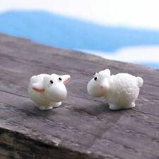 5Pcs Mini Sheep Animals Home Micro Fairy Garden Miniatures Decor DIY SP TD