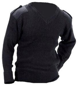 SECURITY Military Crew Neck Sweatshirt