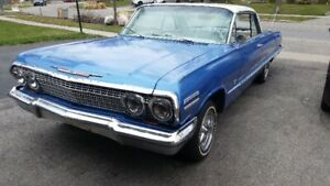 1963 impala 2 door coupe driver