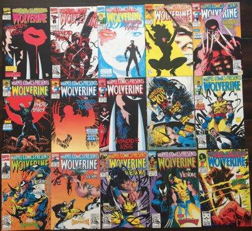 1988-1994 individual issues Marvel Comics Presents comics