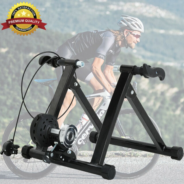 New Indoor Magnetic Bicycle Bike Trainer Exercise Stand 5 levels of Resistance
