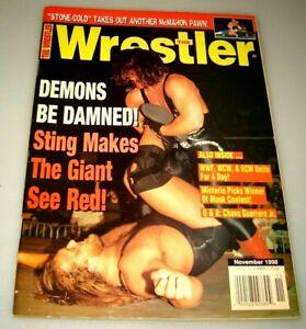 Il-Lottatore-Rivista-Sting-Andre-il-Gigante-Novembre-1998