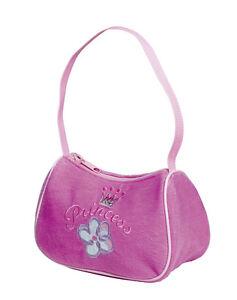 10 x Job Lot Girls Pink Princess Handbags Party Bag Gifts HB-8169 By Katz