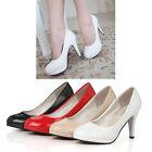 Women Office Dress Work OL Lady Pumps Classics High Stilettos Heels Causal Shoes