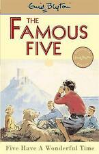 Five Have a Wonderful Time (Famous Five), By Enid Blyton,in Used but Acceptable