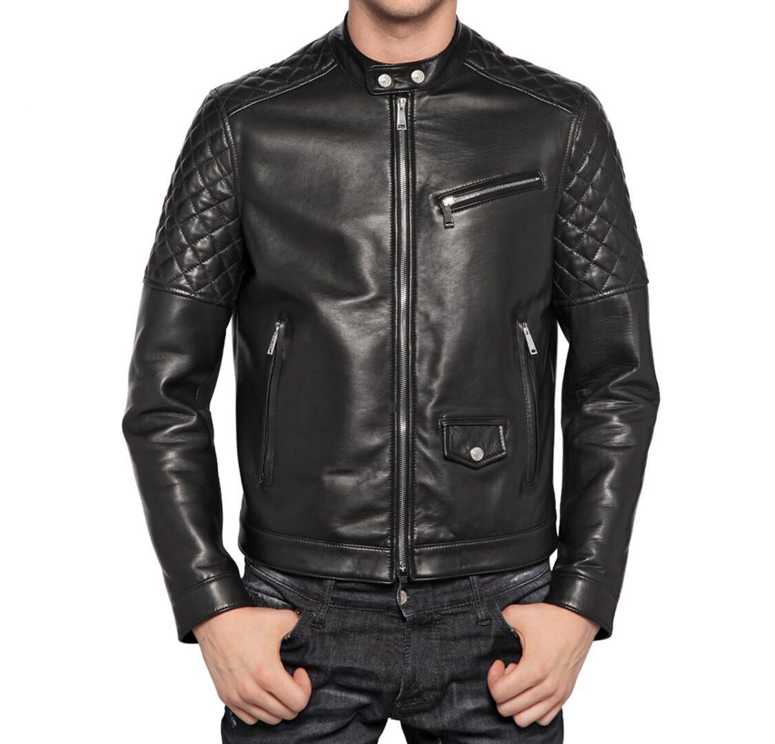Aus Leder 100% o Haut PU Jacke Jacke Herren Herren Lederjacke md.Tra2